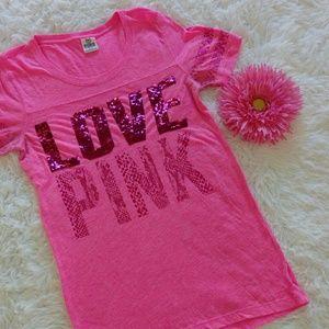 Pink Victoria's Secret Pink T Shirt size M